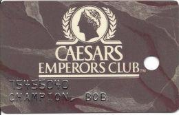 Caesars Palace Casino Las Vegas, NV Slot Card - Phone Numbers Aligned - Casino Cards