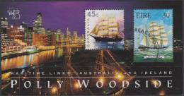 AUSTRALIA - USED 1999  45c Stamp Show '99 Souvenir Sheet - Links With Ireland - Polly Woodside, Ship - Gebruikt