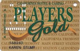 California Casino Las Vegas, NV - Slot Card - 5 Lines Bottom Paragraph Indented - Casino Cards