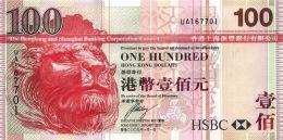 HONG KONG 100 DOLLARS 2009 P-209f UNC  [HK209f] - Hong Kong