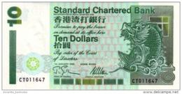 HONG KONG 10 DOLLARS 1995 P-284a UNC  [ HK407c ] - Hong Kong