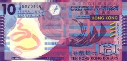 HONG KONG 10 DOLLARS 2007 P-401a UNC 01.04.2007 [ HK720a ] - Hong Kong