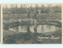 Old Rppc SMALL POND Argonne Forest - Chatel-Chehery - Ardennes France HM2292 - Unclassified