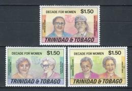 Trinidad & Tobago 1985. Yvert 526-28 ** MNH. - Trinidad & Tobago (1962-...)