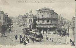 CP 87 - Limoges - Boulevard Carnot Carrefour Tourny Avenue Garibaldi. - Limoges