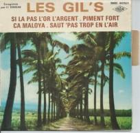 """45 Tours EP - LES GIL´S  -  DINDAR 25021 - """" SI LA PAS L´OR L´ARGENT """" + 3 ( GROUPE DE LA REUNION ) - Dischi In Vinile"""