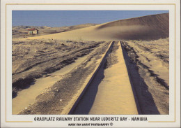 Namibia - Grasplatz - Railway Station Near Luderitz Bay - Nice Stamp - Namibia