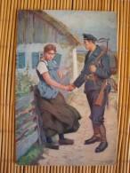 Wohlfahrtskarte Der Sammlung Zur Unterstützung Der Kriegs-Invaliden Der Kaiserlichen Marine, Ungelaufen ! - Weltkrieg 1914-18