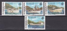SEYCHELLES - ZEL ELWAGNE SESEL - N°Y&T - Série 53/6 - Les 4 Valeurs - Bateaux   - N** - Seychelles (1976-...)