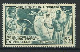VEND BEAU TIMBRE DE POSTE AERIENNE D´A.E.F. N°54 , XX !!!! - Unused Stamps