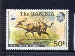 Gambia 1976, Animal Minr 334 Mlh. Cv 26 Euro (michelcataloque 2013) - Gambia (1965-...)