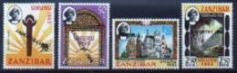 Zanzibar Set Of Stamps To Commemorate Independence. - Zanzibar (1963-1968)