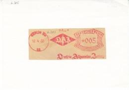 D-Berlin 1933. Press. DAZ -Deutsche Allgemeine Zeitung (6.385) - Briefe U. Dokumente