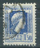 VEND BEAU TIMBRE D´ALGERIE N°214 , ANNEAU DE LUNE DERRIERE LA TETE !!!! - Used Stamps