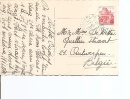 Suisse ( Carte Postale De 1946 De Silvaplana Vers La Belgique à Voir) - Suisse