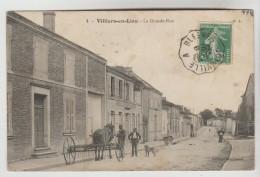 CPA VILLIERS EN LIEU (Haute Marne) - La Grande Rue - Frankreich