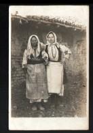 CARTE PHOTO AVEC AU VERSO: SOUVENIR DES ENVIRONS DE MONASTIR - Macédoine