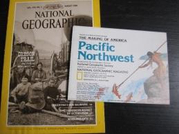NATIONAL GEOGRAPHIC Vol. 170, N°2, 1986 : Oregon Trail (avec Carte : Pacific Northwest) - Uranus - Géographie