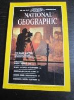 NATIONAL GEOGRAPHIC Vol. 164, N°5, 1983 : The Last Supper, L. De Vinci - Honduras - Hawaii (sans La Carte Annoncée En Co - Géographie