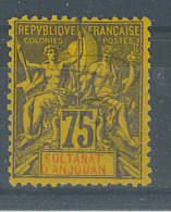 VEND BEAU TIMBRE D´ANJOUAN N°12 , NEUF !!!! - Unused Stamps