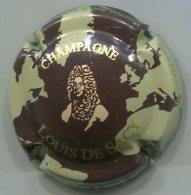 CAPSULE-CHAMPAGNE SACY DE Louis N°09 Fond Créme & Marron - Andere