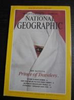 NATIONAL GEOGRAPHIC Vol. 180, N°6, 1991 : Ibn Battuta, Pronce Of Travelers (sans La Carte Annoncée En Couverture) - Géographie