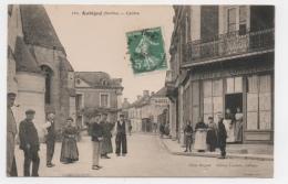 72 SARTHE - AUBIGNE Centre, Café Du Commerce - France