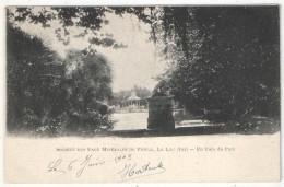 83 - LE LUC - Société Des Eaux Minérales De Pioule - Un Coin Du Parc - 1903 - Le Luc