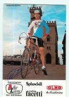 Giuseppe PETITO , Autographe Manuscrit Dédicace. 2 Scans. Cyclisme. Alfa Lum Olmo - Ciclismo