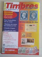 TIMBRES MAGAZINE 2011 - Septembre N° 126 (les Colonies Allemandes, 20c Bleu, Liberte à L´etranger, ...) - Français (àpd. 1941)