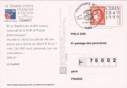 Philexfrance 1999 - Enteros Postales