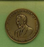 Médaille Avers : « Gustave Warmont - 25 Années De Créations Et Réalisations En Publicité» - Revers : « Fête De ----> - Other