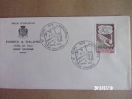 Orléans - Foire Aux Antiquités -1979 - Marcophilie (Lettres)