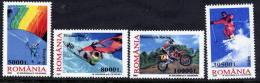 ROMANIA 2003 Extreme Sports  MNH / **.  Michel 5760-63 - 1948-.... Republics