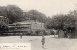 4440. CPA 33 LORMONT. PLACE DU PORT - France