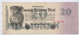 ALLEMAGNE - Weimar - 20 0000 Mark 25/07/1923 - SUPERBE - [ 3] 1918-1933 : República De Weimar