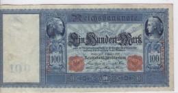 ALLEMAGNE - 100 MARK Mercure Et Cérès - 10/09/1909 - TTB+ - [ 2] 1871-1918 : German Empire