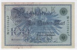 ALLEMAGNE - 100 MARK 07/0/1908 - SPL - [ 2] 1871-1918 : German Empire