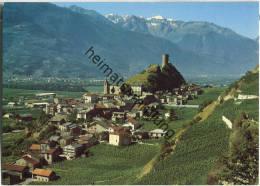 Bourg De Saillon - Ansichtskarte Großformat - VS Valais