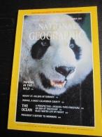 NATIONAL GEOGRAPHIC Vol. 160 N°6, 1981 :    Pandas In The Wild - The Ocean (sans La Carte Annoncée En Couverture) - Géographie