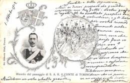 RICORDO DEL PASSAGIO DI S.A.R. IL CONTE DI TORINO - Familias Reales