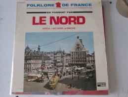 En Passant Par Le Nord   BERTAL SIMONS LINE DARIEL    Vinyl  ..patois Picard Ch Ti Ch Timi Lille GRAND PLACE TRAMWAY - Humour, Cabaret
