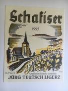 1276 - Suisse  Berne Schafiser 1995 Jürg Teutsch Ligerz - Etiquettes