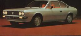 Postcard  Unused -  Passenger Cars - Lancia Coupe 1300  - 2/scans - Turismo