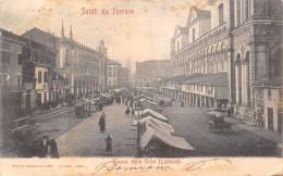 SALUTI DA FERRARA.- PIAZZA DELLE ERBE (LISTONE) - Ferrara