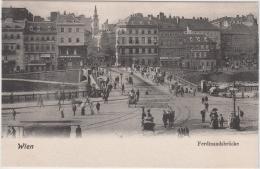 AK - Wien - Leute Beim Flanieren Auf Der Ferdinandbrücke 1900 - Altri