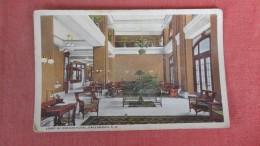 South Carolina> Greenwood    Lobby Of Oregon Hotel = Ref  2287 - Greenwood