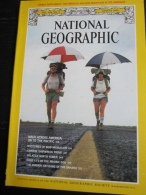 NATIONAL GEOGRAPHIC Vol. 156, N°2, 1979 :   Walk Accross America (sans La Carte Annoncée En Couverture) - Géographie
