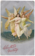 Christmas Greeting - 3 Angels - Wildt & Kray - C1915 - Angels