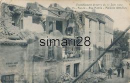 SALON - N° 75 - TREMBLEMENT DE TERRE DU 11 JUIN 1909 - RUE PONTIS - MAISONS DEMOLIES - Salon De Provence